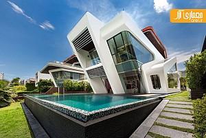 طراحی ویلای مدرن میسترال در سنگاپور