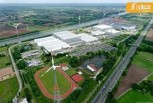 معماری سازگار با محیط زیست کمپانی Nike در بلژیک