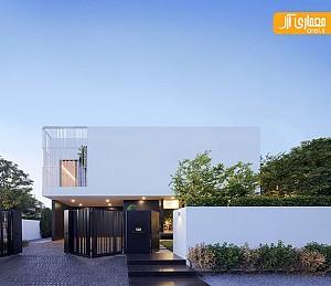 معماری و طراحی داخلی خانه مسکونی در بانکوک