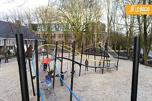 طراحی فضای بازی مدرن در آمستردام