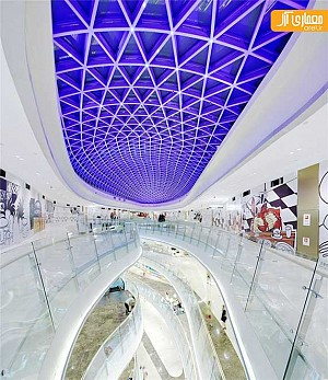 معماری و طراحی داخلی مرکز تجاری در چین