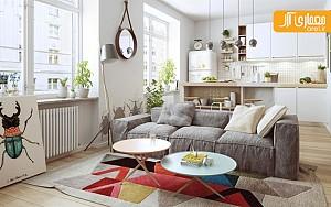 بررسی طراحی داخلی خانه به سبک اسکاندیناوی