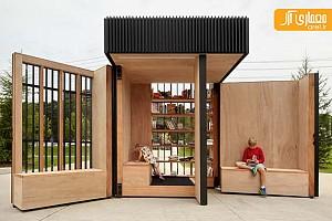 نصب کتابخانه 6 متری در حومه شهر تورنتو