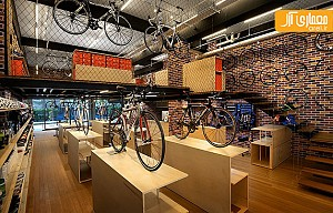 طراحی فروشگاه لوازم ورزشی FHL