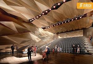 طراحی آمفی تئاتر و سالن موسیقی