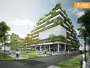 دانشگاه FPT با معماری سبز و پایدار