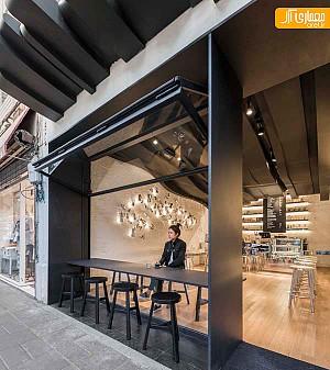 طراحی داخلی خلاقانه کافی شاپ در شانگهای