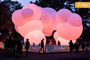 طراحی پاویون حبابی توسط گروه معماری BIG