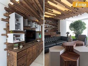 استفاده از سقف های تزئینی در طراحی داخلی