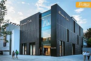 طراحی فروشگاه Massimo Dutti