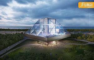 طرح پیشنهادی موزه فرهنگی-هنری  توسط OMA