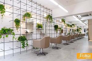 10 نمونه طراحی داخلی سالن زیبایی و انستیتو