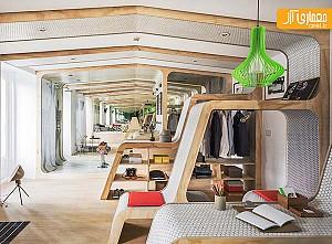 طراحی داخلی اتاق خواب با کانسپت مدولار