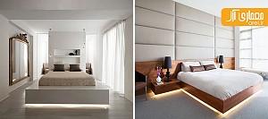 بررسی 9 نمونه تخت خواب معلق در دکوراسیون داخلی اتاق خواب