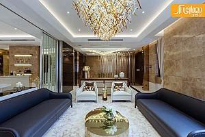 نمونه ای از طراحی داخلی  لوکس ترین ویلاهای شانگهای