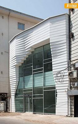 معماری و طراحی داخلی گل فروشی گلیران
