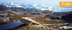 نگاهی به طرح منتخب مرکز گردشگری، در چشم اندازهای گرینلند