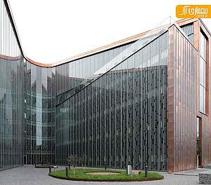 طراحی مرکز بهداشتی با فرم تندیس گونه