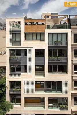 طراحی مجتمع مسکونی خزر در تهران