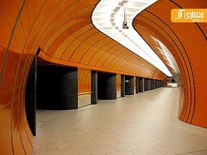 طراحی خلاقانه ایستگاه های مترو مونیخ