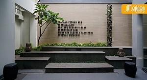 طراحی داخلی دفتر کار معماری در جاکارتا