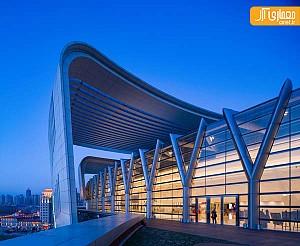 معماری و طراحی داخلی مرکز خرید در چین