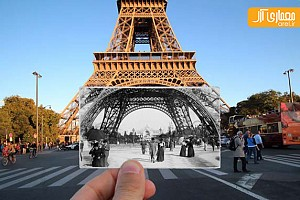 یک شنبه های عکاسی: تطبیق عکس های تاریخی با صحنه های حاضر
