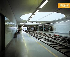 ایستگاه مترو پورتو در پرتغال
