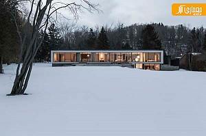معماری و طراحی داخلی بی نظیر منزل شخصی