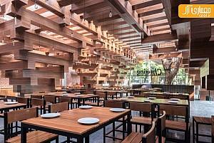 بازسازی و طراحی داخلی رستوران