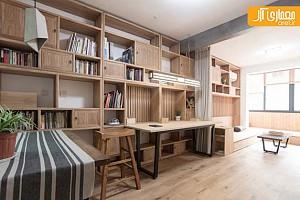 نگاهی به معماری داخلی منزلی به سبک چینی