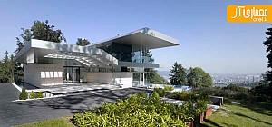 طراحی داخلی مدرن ویلا با چشم انداز زیبا