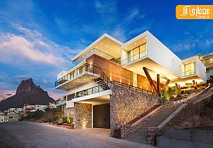 معماری و طراحی داخلی ویلایی در مکزیک