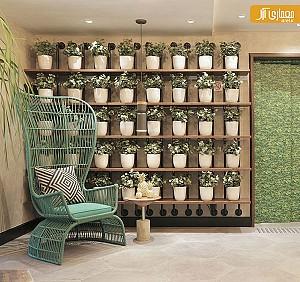 ایده طراحی دیوار دکوراتیو در فضاهای داخلی یا باز