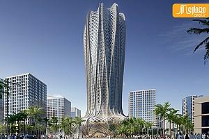 طراحی برج جدید زاها حدید در قطر