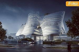 نگاهی به مرکز بین المللی مُد، توسط گروه معماری MAD