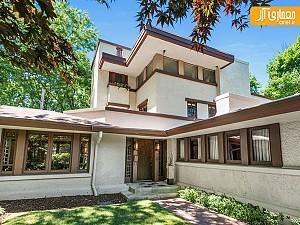 نادرترین طراحی منزل فرانک لوید رایت