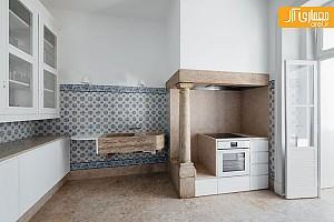بازسازی آپارتمان با تلفیق معماری جدید و قدیمی