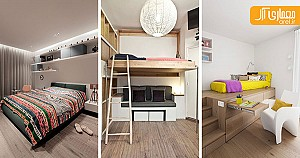 14 نمونه اتاق خواب نوجوانان و ایده طراحی آن ها