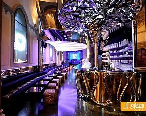 طراحی داخلی رستوران کاوالی