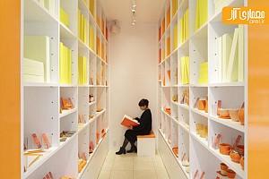 دنیای رنگی در طراحی داخلی فروشگاه لوازم خانگی