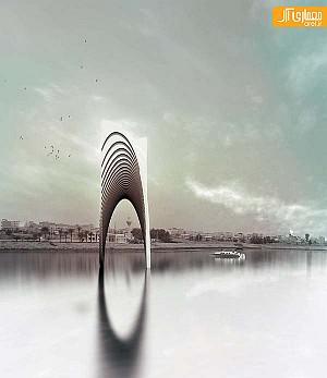 طراحی المان اصلی پارک موزه دفاع مقدس در مازندران