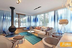 طراحی و دکوراسیون داخلی منزل ساحلی