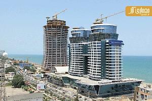 معماری برج های قو الماس خاورمیانه، متل قو