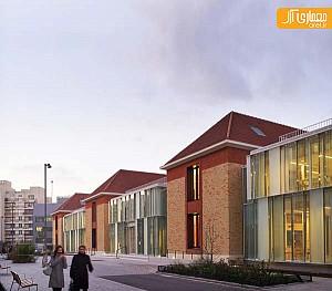 معماری درونگرا مجموعه درمانی و بیمارستان