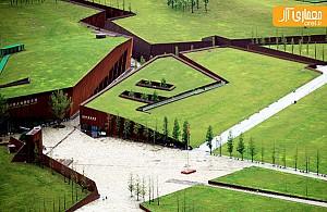 طراحی موزه زیرزمینی در چین، به عنوان یادبود زلزله