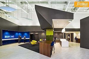 طراحی داخلی دفتر جدید ماکروسافت در سان فرانسیسکو