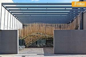 تعلیق باغ هوایی در موزه هنرهای معاصر