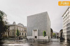 معماری و طراحی داخلی موزه هنر های زیبا