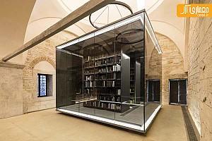 بازسازی کتابخانه تاریخی با مجموعه کتاب های نادر